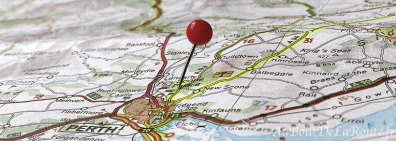 itinéraire de visites touristiques